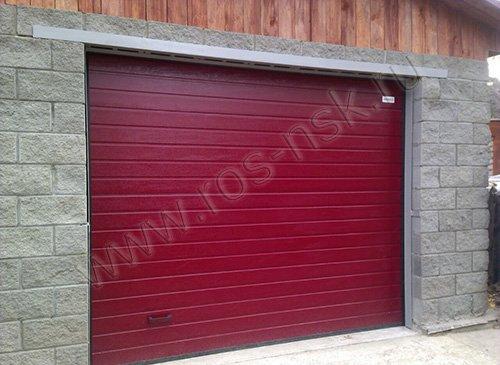 Секционные гаражные ворота ALUTECH Classiс 2700*2300мм