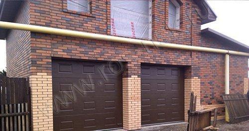 Гаражные ворота серии RSD-02 DOORHAN  размер ворот 2750* 2300мм