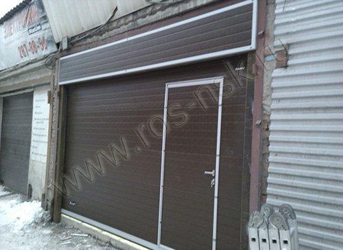 Секционные гаражные ворота Дорхан  3500*2200