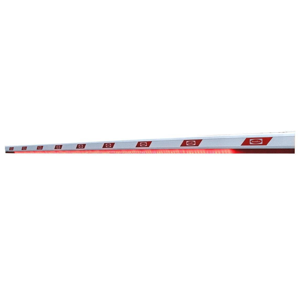 Стрела алюминиевая для шлагбаума BARRIER (DOORHAN) c подсветкой