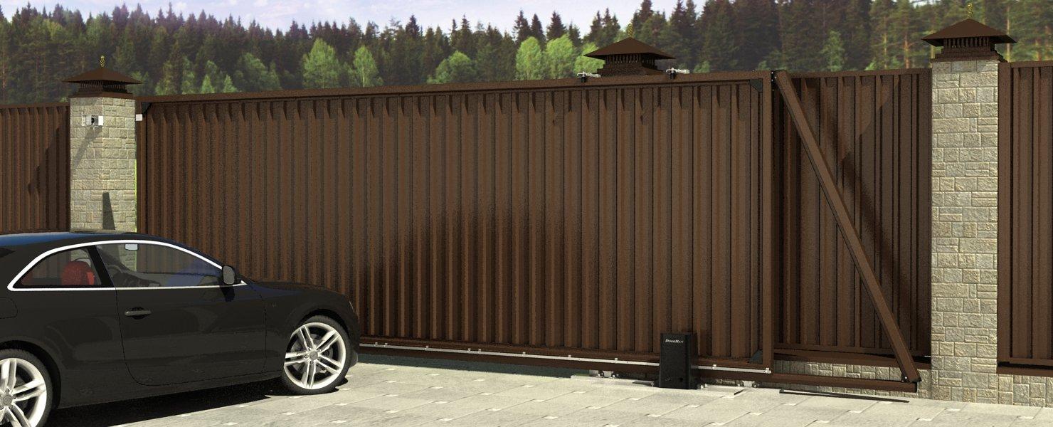 Revolution - Откатные ворота недорого!