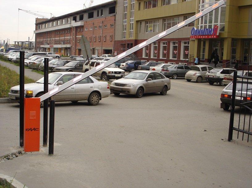 Шлагбаум FAAC в Новосибирске