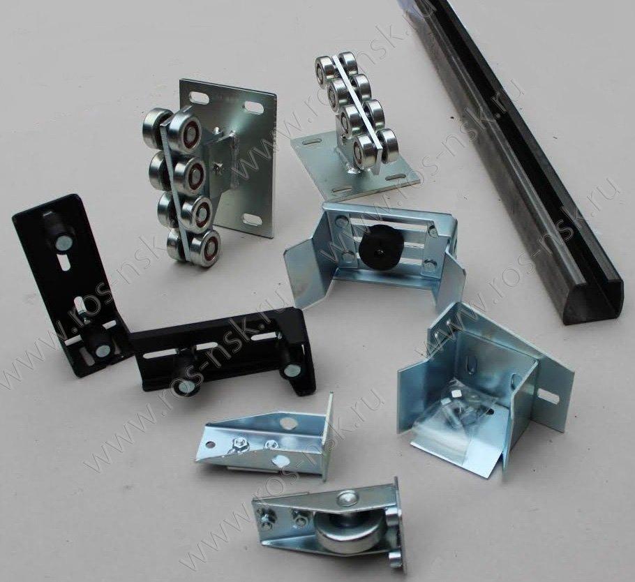 Комплектующие для откатных ворот с балкой 71×60×3.5