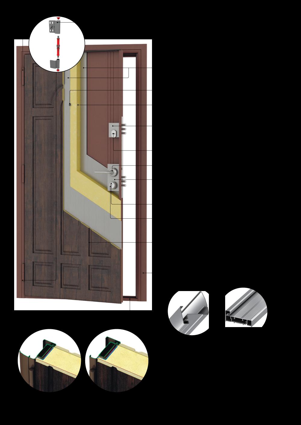 Стальные двери «Премьера Премиум»