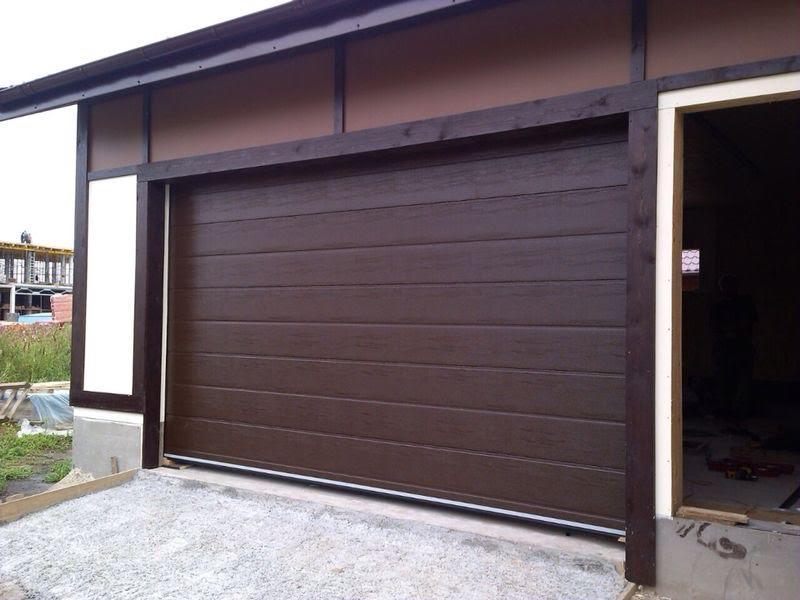 Ворота секционные для гаража