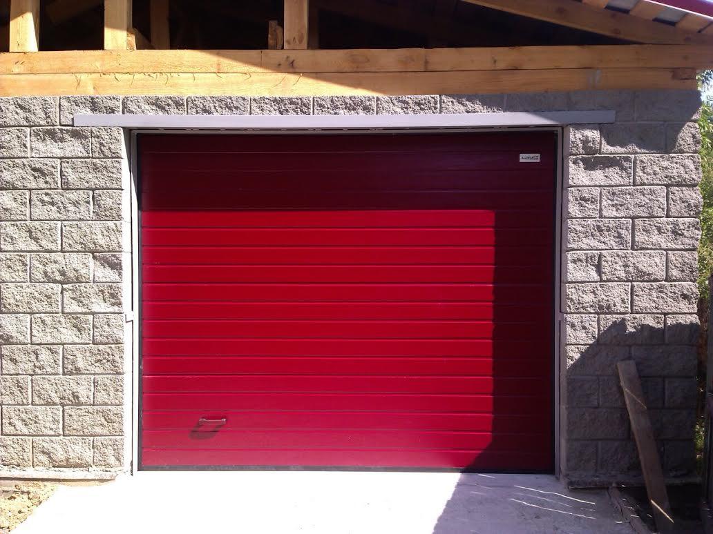 Ворота для гаража секционные автоматические