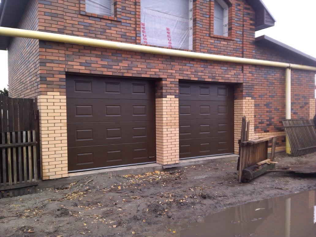 Ворота гаражные подъемные